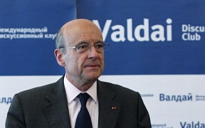 French Foreign Minister Shows His Hawkish Side