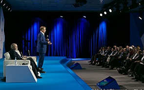 Sberbank CEO German Gref  at the 14th Annual Meeting of the Valdai Discussion Club