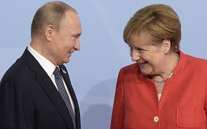 Trump's Move on Iran Deal Raises Prominence of Putin-Merkel Meeting