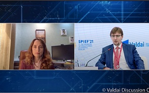 Photo Gallery: Risks Sanctions Pose to the Global Financial System and International Business. The Valdai Discussion Club Session at SPIEF-2021