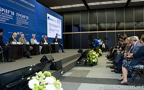 """SPIEF-2019. Valdai Discussion Club Session """"A New Europe: What Is Russia to Expect?"""""""