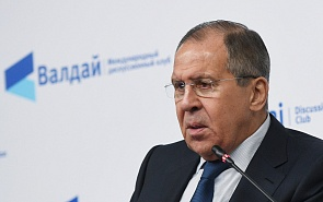 Welcome Message from Russian Foreign Minister Sergey Lavrov to Participants in the Valdai Club's Middle East Conference
