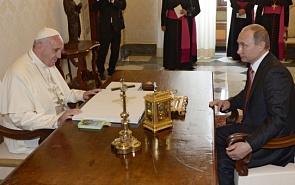 Putin in Italy: Pope Will Judge Us?