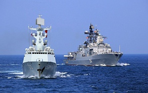 Russian-Chinese Exercises in the Baltic As an Element of a Changing World