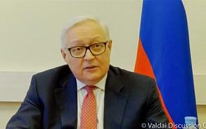 Sergey Ryabkov on world order transformation after pandemic