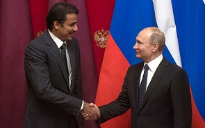 Emir of Qatar in Russia: Low Profile and Modest Outcome