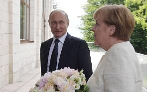 Pragmatism in Action: What to Expect from the Putin-Merkel Summit