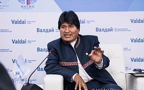 Photo Gallery: Bolivian President Evo Morales at Valdai Club