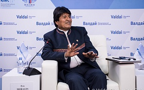 Evo Morales at the Valdai Club: 'We Need a Revolution by Word'