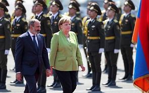Merkel's Trip to a Divided Region