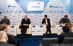 Photo Gallery. Indian-Russian Conference. Panel Session: The New Geostrategic Context as Seen from New Delhi and Moscow