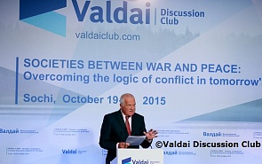 Václav Klaus: Valdai's Debate about Threats: The Threat Is Us