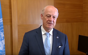 Staffan de Mistura: Vitaliy Naumkin is Extraordinarily Effective as an Intermediary