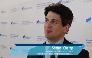 Samuel Charap: We Talked a Lot about the Eurasian Partnership