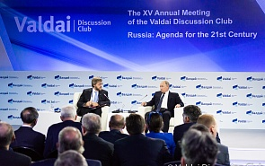 The World We Will Live In. Vladimir Putin at the Annual Meeting of the Valdai Discussion Club
