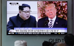 Forward and Rearward Movements: How Kim and Trump Talk to Each Other
