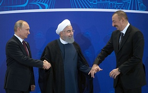 The Caspian Triangle: Predictability of Neighbours Is the Key