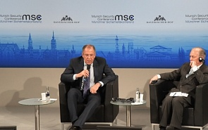 Foreign Minister Sergey Lavrov Delivers a Speech during Debates at the 51st Munich Security Conference