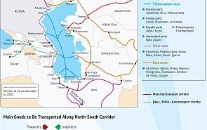 International North–South Transport Corridor