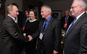 Valdai 2011: Vladimir Putin meets with Valdai Discussion Club members