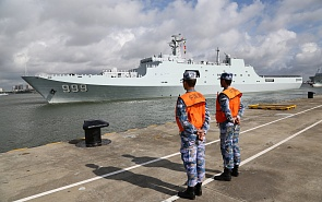What Chinese Naval Base in Djibouti Means