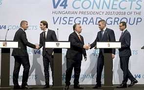 Attractive and Centrifugal Forces of the Visegrad Group